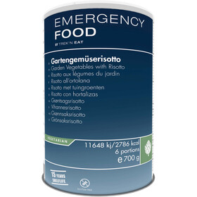 Trek'n Eat Emergency Food Can 700g, Garden Vegetables with Risotto